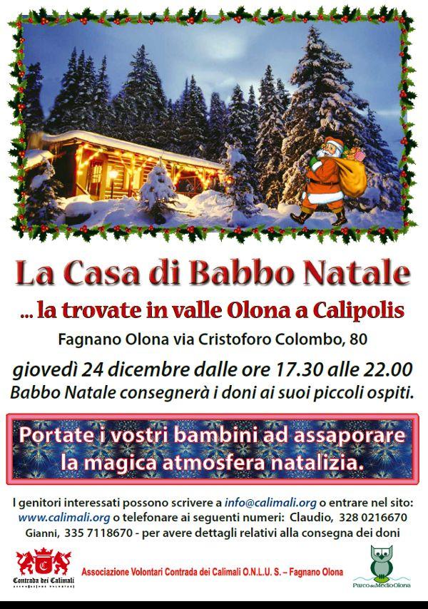 Casa Babbo Natale Calimali